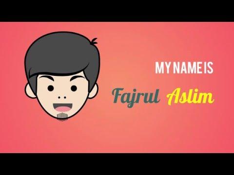 Fajrul Aslim CV & Portofolio in Flash - Reupload