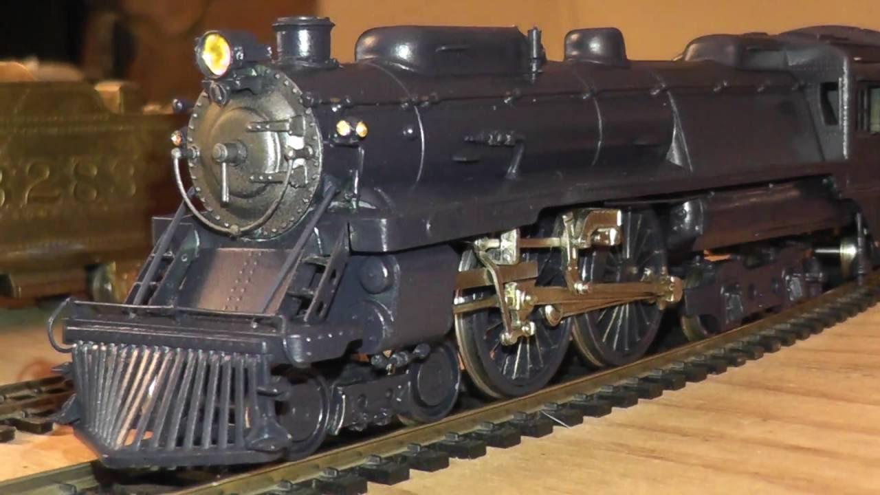 HO NJ Custom Brass Lady Baltimore & Ohio 4-4-4 J1 Steam Locomotive Pro  Paint B&O