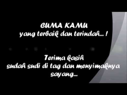 CUMA KAMU By. RIDHO RHOMA With LYRIC {BLACK And WHITE VERSION}