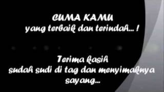 [3.69 MB] CUMA KAMU by. RIDHO RHOMA with LYRIC {BLACK and WHITE VERSION}