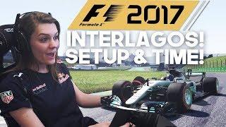 SUPER TIME!!! F1: 2017 BRAZIL INTERLAGOS! F1 BRAZILIË SETUP & TIME TRIAL 2017! (Formule 1: 2017)