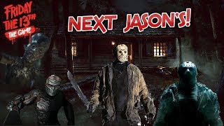 Next JASON'S Coming To Friday The 13th GAME! JASON X! Reboot Jason, KID JASON & MORE!!! (F13 Game)