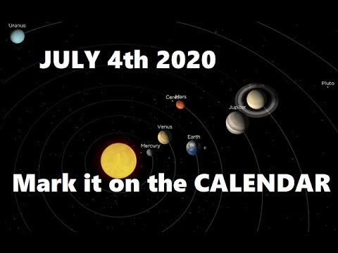 Planet alignment dates in Australia
