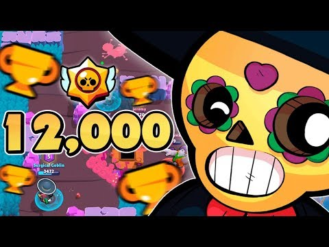 POCO = OP! 12,000 TROPHIES! Live Brawl Stars Gameplay - Surgical Goblin