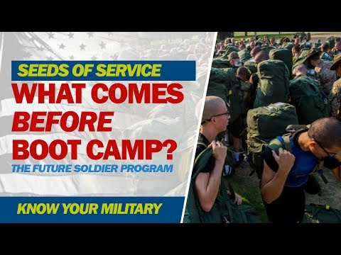 Seeds of Service: What Comes Before Boot Camp?