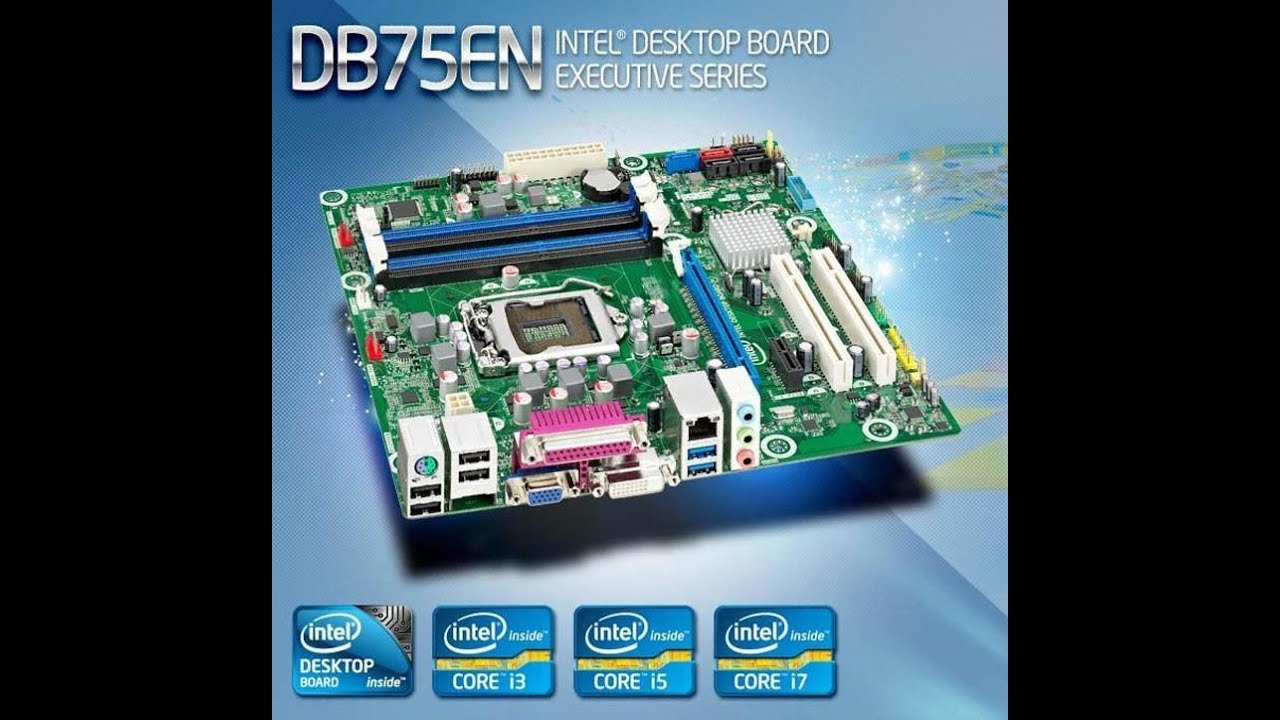 Intel DB75EN Drivers for Windows Mac