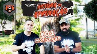 História de Aprovação com Caio Goveia -  Episódio #01: Motivação - PMMG Oficial - Monster Concursos
