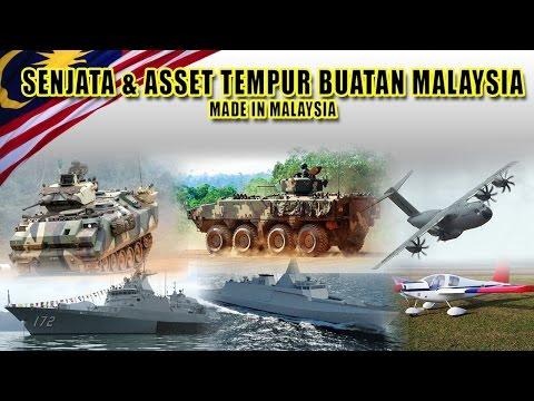 Senjata & Asset Tempur Buatan Malaysia AV8 Gempita Lipan Bara Gowind AeroTiga