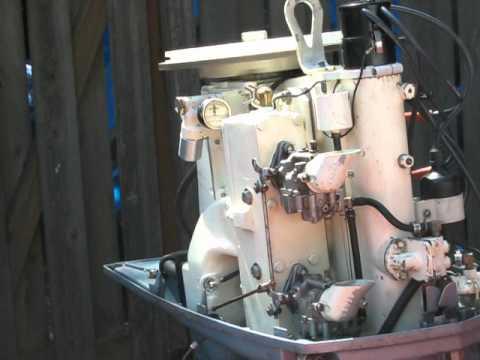 bearcat 55hp rebuild 2012 youtube rh youtube com Bearcat Outboard Crosley Fisher Pierce Bearcat
