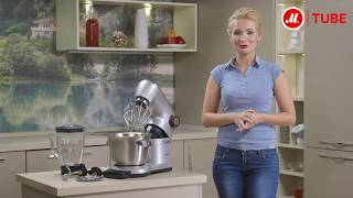 Обзор кухонной машины Bosch MUM9YX5S12 от эксперта «М.Видео»