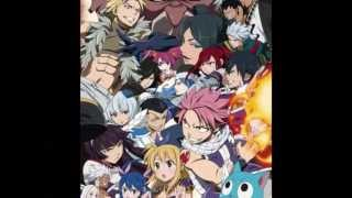 Repeat youtube video Fairy Tail Opening 14 - Fairy Tail ~Yakusoki no hi~ (with lyrics)