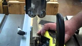 Jewelry Box Step 4 How To Resaw A Wood Board On A Bandsaw