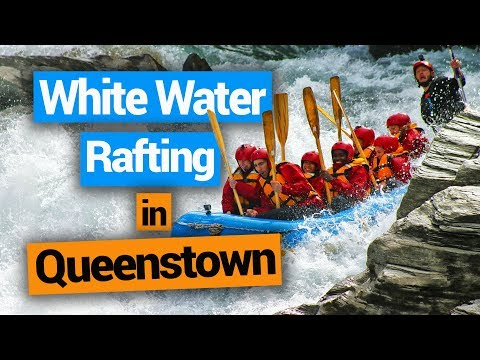 White Water Rafting in Queenstown  –  New Zealand's Biggest Gap Year – Backpacker Guide New Zealand
