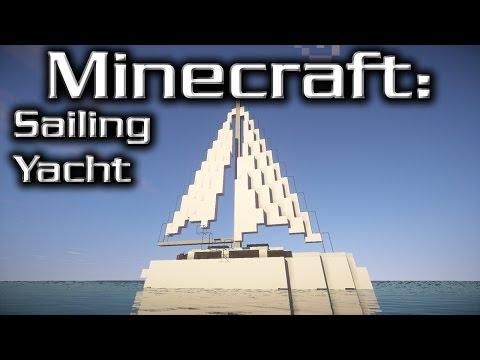 Minecraft: Sailing Yacht Tutorial