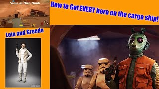 How to get EVERY hero on the cargo ship!