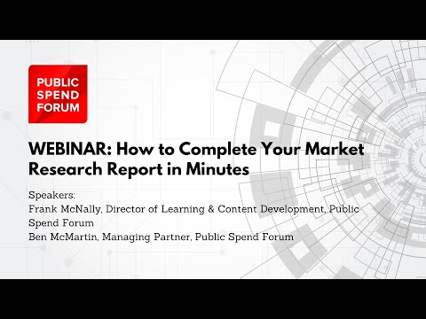 How to Complete Your Market Research Report in Minutes