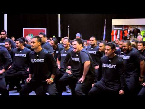 University of Hawaii Haka Chant