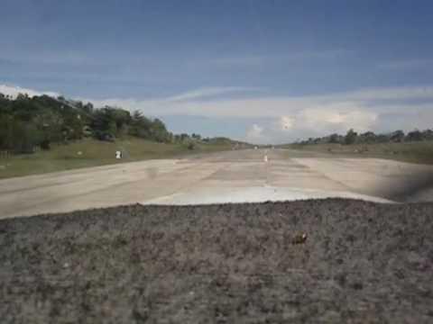 Landing on runway 16 Maasin