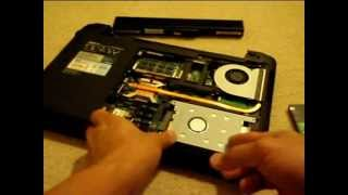 Howto Replace Hard Drive on your Asus K52F