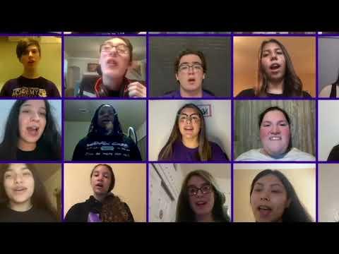 Warren Choir Performs I'm Still Standing - Featuring Jordan, Connally, & Zachry Middle School Choirs