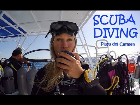 The Blonde Abroad - Scuba Diving in Playa del Carmen Mexico