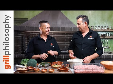 Pork burger patties, juicy - Μπιφτέκια ζουμερά χοιρινά | Grill philosophy