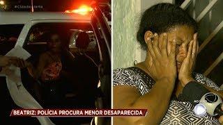 Caso Beatriz: veja o momento em que a polícia encontra jovem de 15 anos