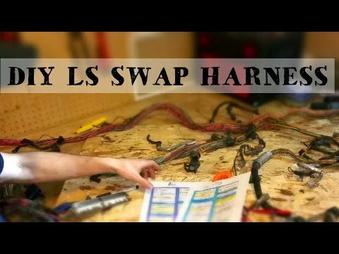 DIY STANDALONE LS SWAP HARNESS!!! How to wire your LS swap on a