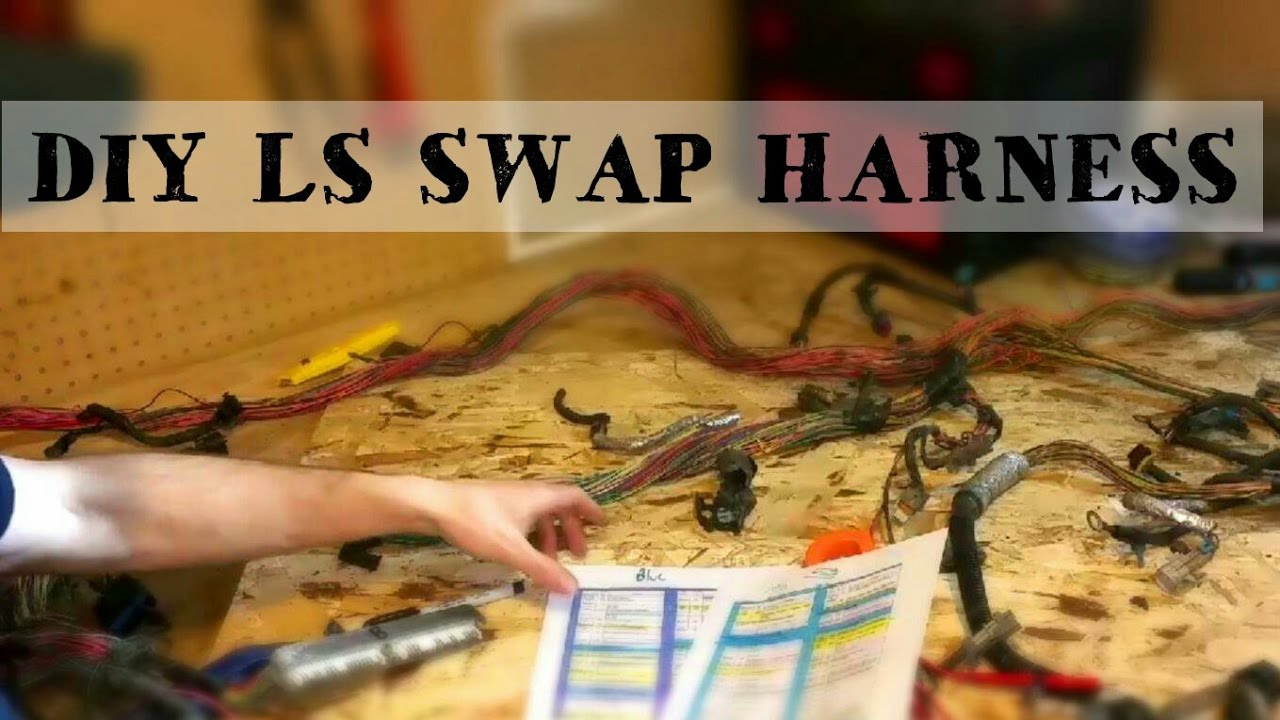DIY STANDALONE LS SWAP HARNESS!!! How to wire your LS swap