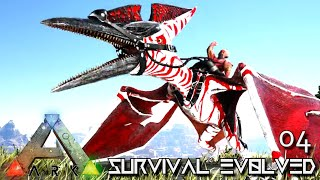 ARK: SURVIVAL EVOLVED - ALPHA PTERANODON RULES THE SKY !!! EXTINCTION CORE TALAMH E04
