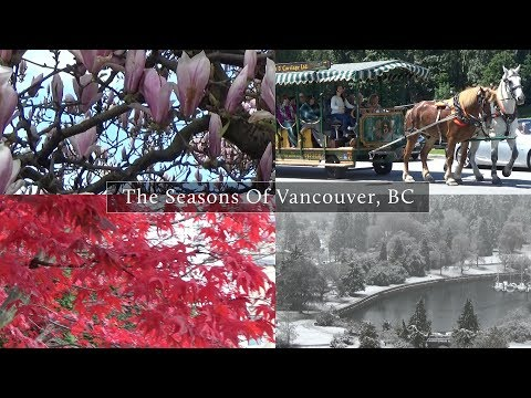 The Four Beautiful Seasons Of Vancouver, BC
