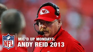 Andy Reid Mic'd Up First Year with Chiefs Mashup (2013) | #MicdUpMondays | NFL