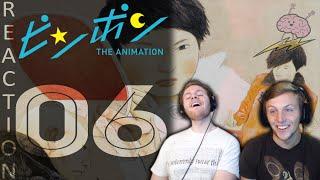 SOS Bros React - Ping Pong the Animation Episode 6 - The Christmas Episode!!