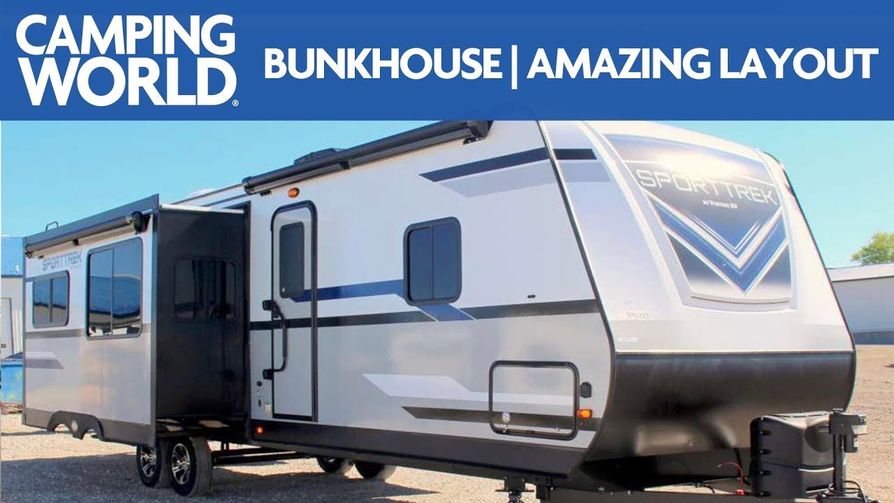 2020 Sporttrek 327vik Travel Trailer Rv Review Camping World Youtube Venture rv sporttrek rvs for sale near you. 2020 sporttrek 327vik travel trailer rv review camping world