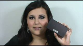Smokey Purple Eye and Glitter Lip with Laura Mercier Spring 2011 Thumbnail