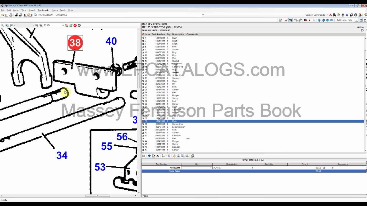 Massey Ferguson 2013 Parts Catalog / Book Download - YouTube