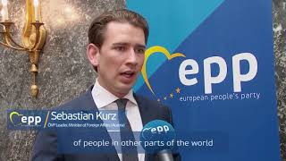 Sebastian Kurz on migration