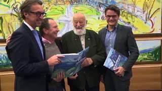 Johann Weyringer - Buchpräsentation - Die Bilderwand in der Salzburg AG