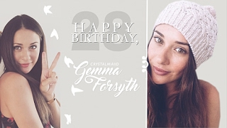 happy 28th birthday gemma forsyth
