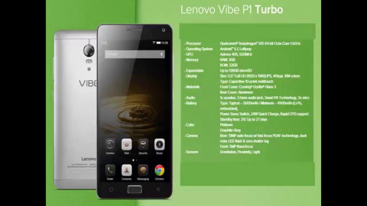 Lenovo Vibe P1 Turbo More STRONGER Than Pro