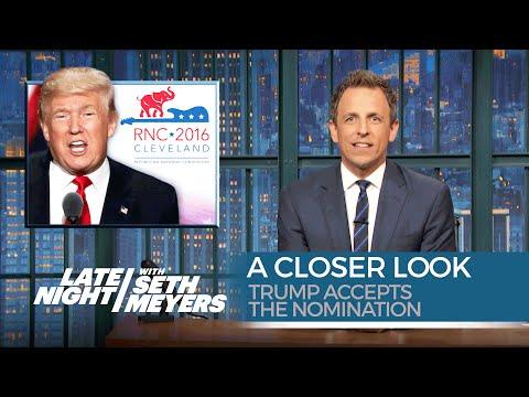Trump Accepts the Nomination: A Closer Look