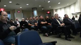 Fresno city permit dept at board meeting
