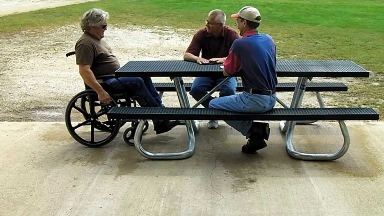 Picnic Table ADA Compliance Comparison Pilot Rock Picnic Tables Are - Ada picnic table requirements