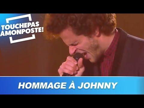 L'hommage émouvant de Michaël Gregorio à Johnny Hallyday
