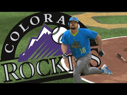 All-Time Colorado Rockies Team! Pitching Troubles! - MLB The Show 17 Diamond Dynasty Gameplay