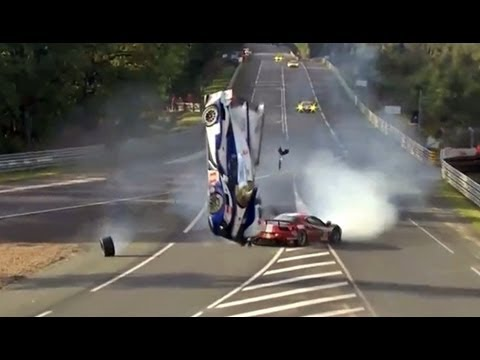 CORSA TV: Accidente de Davidson en Le Mans Videos De Viajes
