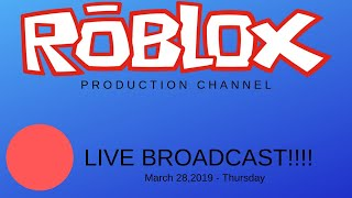 Roblox Production Channel LIVE!!!!!