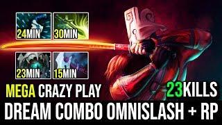 The Dream Combo [Juggernaut] Super Omnislash With Amazing RP = Delete All 23Kills By Sovoz Dota 2