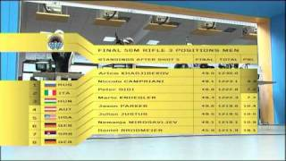 50m Rifle 3 Positions Men - ISSF World Cup Series 2010, Rifle&Pistol World Cup Final, Munich