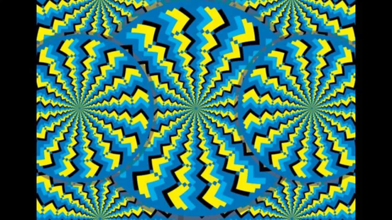 optical illusions moving still illusion part